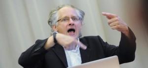 Gerhard Scheucher als Redner, Foto: Club der Querdenker